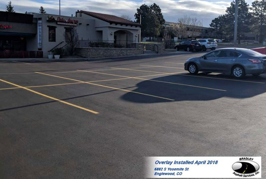 ASPHALT THICKNESS AND STRENGTH IN PARKING LOTS